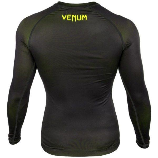 Рашгард Venum Contender 3.0 Black/Yellow L/S
