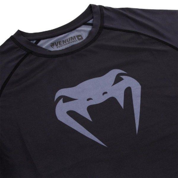 Рашгард Venum Contender 3.0 Black/Grey S/S