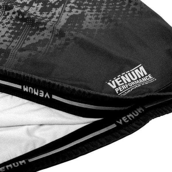 Рашгард Venum Tropical Black/Grey L/S