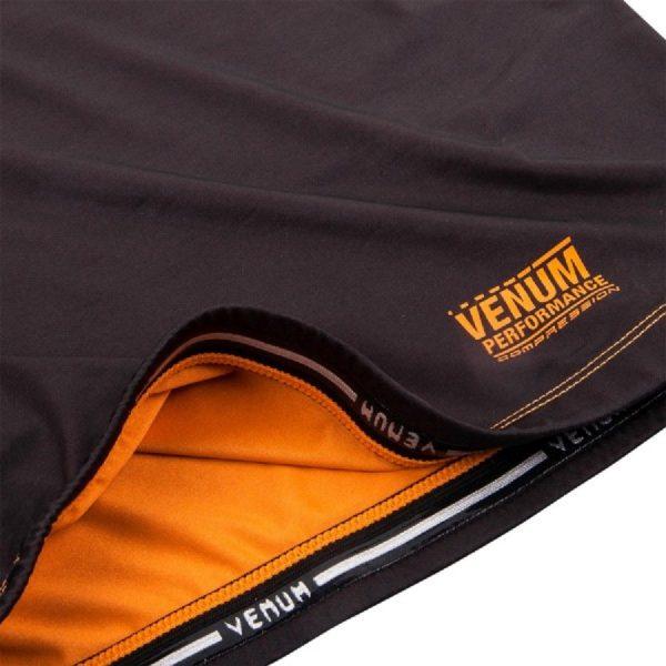 Рашгард Venum Contender 3.0 Black/Orange L/S
