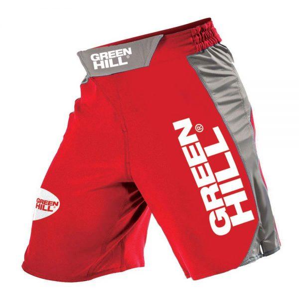 Шорты MMA Green Hill, красные/синие/черные