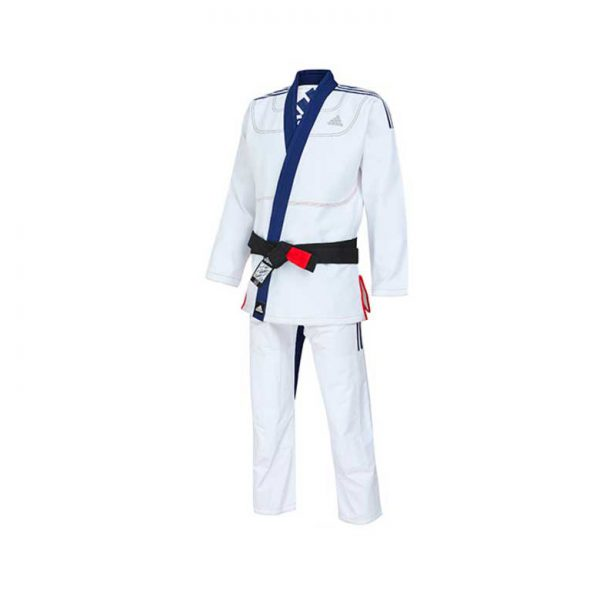 Кимоно для джиу-джитсу Limited Edition бело-синее ADIDAS