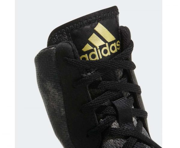Боксерки Adidas Box Hog Plus Серо-желтые
