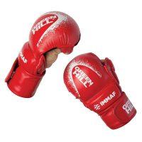 Перчатки MMA Green Hill красные/синие