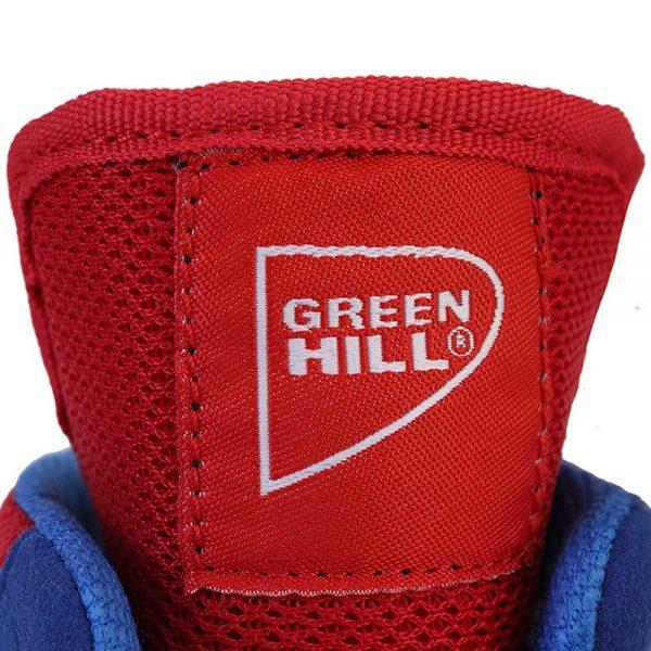 LSB-1801 Боксерки SPECIAL синие/красные/лайм/черные Green Hill