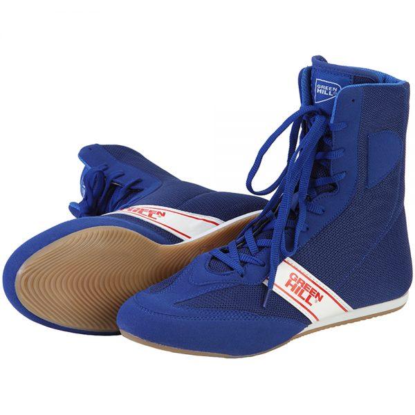 LSB-1801 Боксерки SPECIAL синие Green Hill