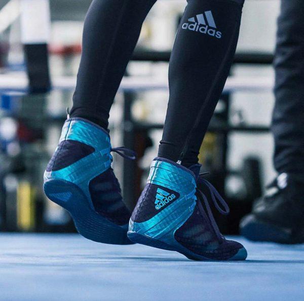 Боксерки Speedex 16.1 темно-синие ADIDAS