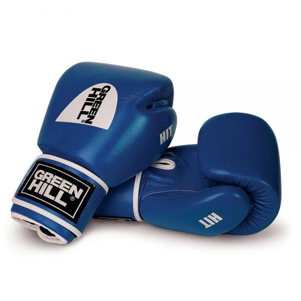 Боксерские перчатки HIT 8-16 oz Green Hill