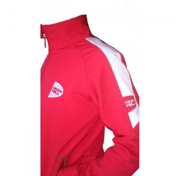 Куртка Soft Shell Green Hill красная/синяя