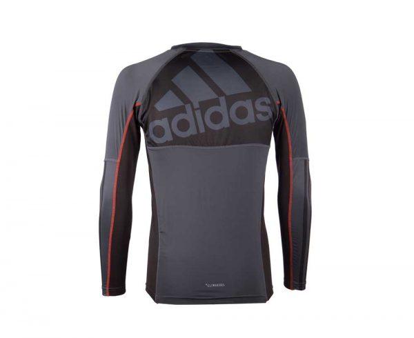 Футболка компрессионная (рашгард) GRAPPLING RASHGUARD LONG SLEEVE Adidas