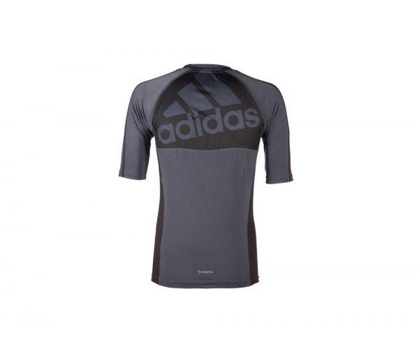 Футболка компрессионная (рашгард) GRAPPLING RASHGUARD SHORT SLEEVE Adidas