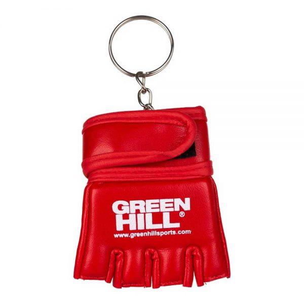 MSG-1105 брелок перчатка для боевого самбо синий/красный Green Hill