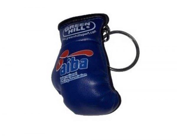 KR-1007-А Брелок сувенирный боксерская перчатка AIBA синий Green Hill