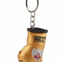 KR-1007-FBR Брелок сувенирный боксерская перчатка Федерация бокса России золотистый/серебристый/синий/красный Green Hill золото