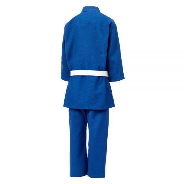 JSTT-10761 Кимоно Дзюдо TRAINING синее Green Hill сзади