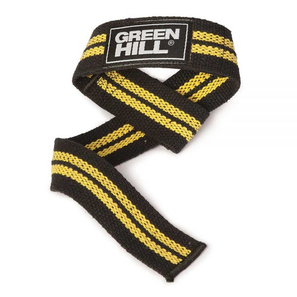 WLC-6556 Лямки для тяги желтые/красные/зеленые Green Hill