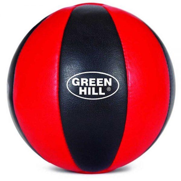 MB-5066 Мяч медицинбол красно-черный Green Hill