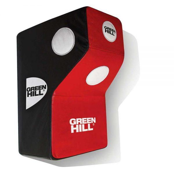 WP-5023 Подушка настенная мишень GH 45*60*42/22 кожа Green Hill