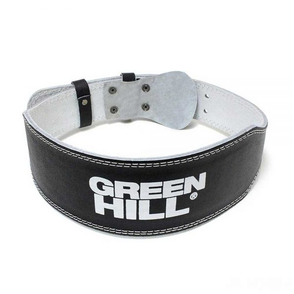 WLB-6420 Пояс тяжелоатлетический чёрный Green Hill