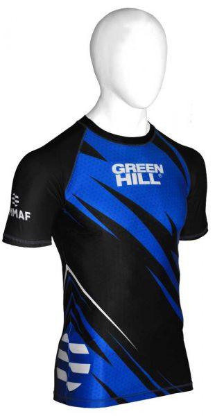 RGi-3921w рашгард IMMAF approved женский синий Green Hill