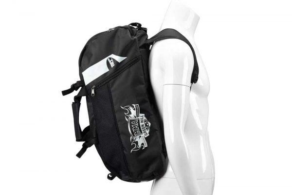 SBBP-582 Спортивная сумка-рюкзак MMA Green Hill черная нейлон