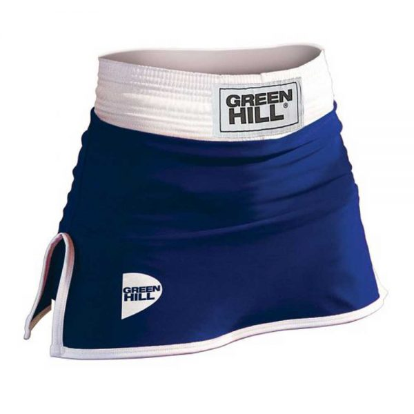 BSD-3801 Юбка для бокса DONNA синяя Green Hill