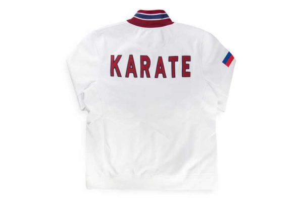 CHD 1450 Ветровка трикотажная Karate White т.м. DAEDO