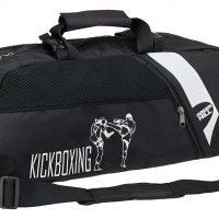 SBBP-582KB Спортивная сумка-рюкзак KICKBOXING черная нейлон Green Hill