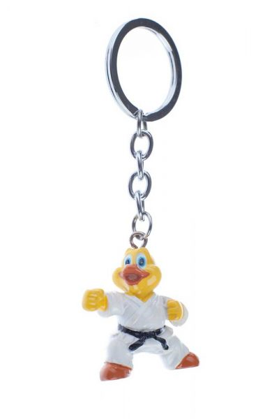 H539 Брелок для ключей WACOKU (Желтая Утка)