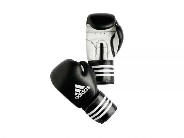 ADIBC03 Боксёрские перчатки ADISTAR черные кожа Adidas