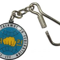 H536 Брелок для ключей (ИТФ) голубая эмаль