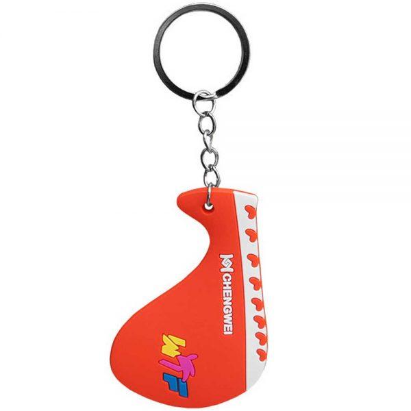 "NA201614 Брелок для ключей Mini Mitt ""Ракетка WTF"" красный"