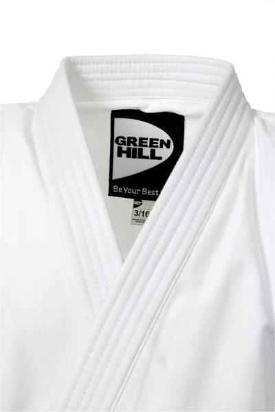 Кимоно для рукопашного боя белое Green Hill