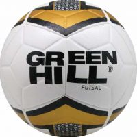 FB-9129 Мяч для минифутбола бело-желто-черный Green Hill