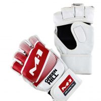 MMA-00016 Перчатки MMA M-1 Green Hill белые