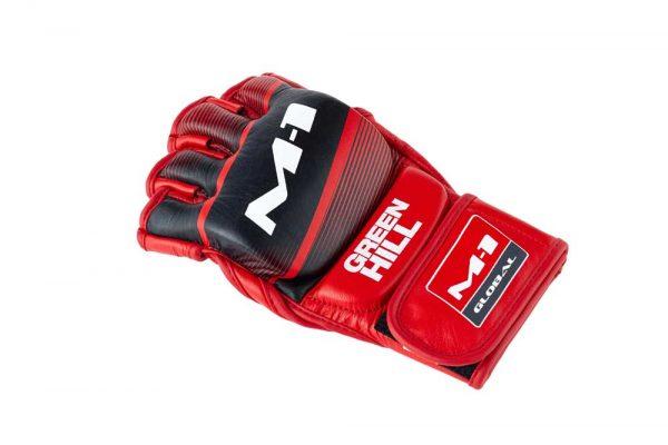 MMA-00016 Перчатки MMA M-1 Green Hill красные