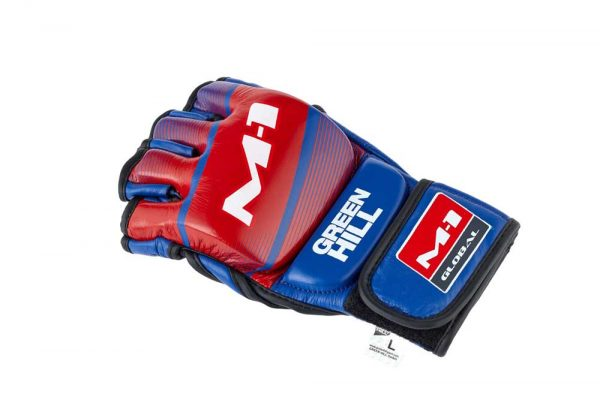 MMA-00016 Перчатки MMA M-1 Green Hill синие