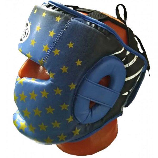 HGPR-013-60 Шлем тренировочный star синий/красный Pak Rus