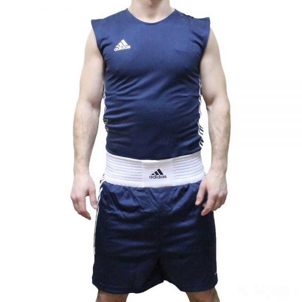 12345 Боксерские шорты Box Tank Clas синие Adidas