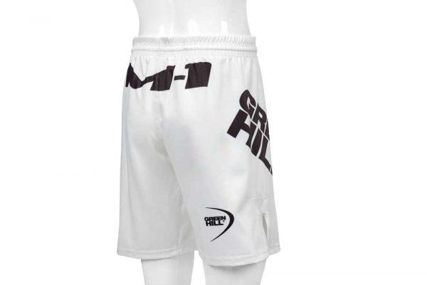 MSM-4009 Шорты MMA M-1 белые/черные Green Hill