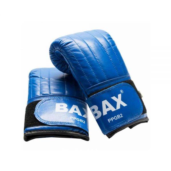 Снарядные перчатки красные/синие BAX
