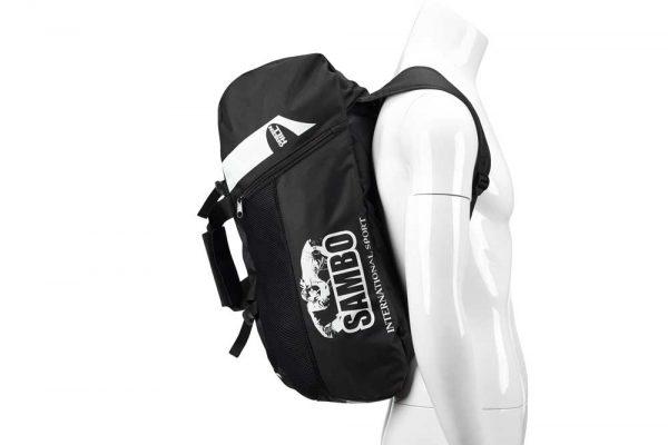 SBBP-582S Спортивная сумка-рюкзак SAMBO черная нейлон Green Hill