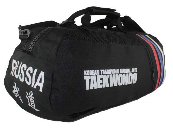 KBP18000/KBP17900 Сумка-рюкзак трансформер Тхэквондо черная Khan