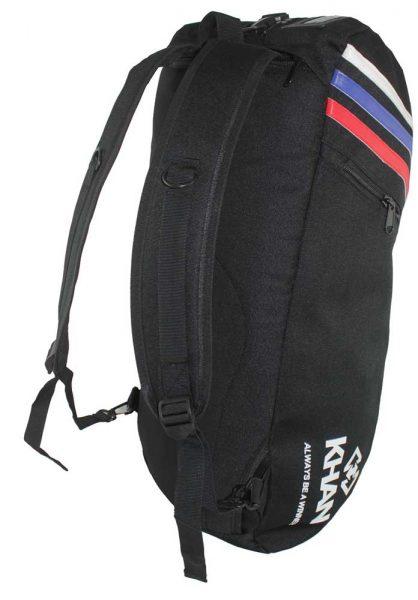 Сумка-рюкзак трансформер черная Khan