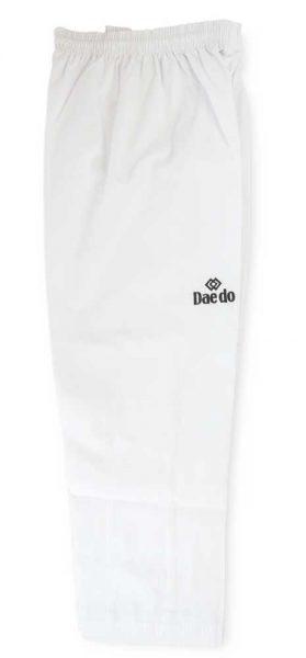TA1030 Форма для тхэквондо (добок) Basic World Taekwondo Approved белый DAEDO