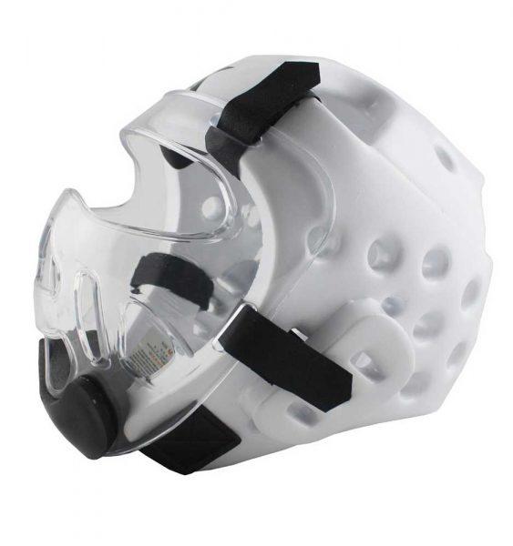 W21190 Защитная маска на шлем прозрачная Face shield KHAN