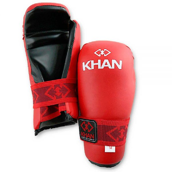 KIHGE003 Защита кисти для тхэквондо ITF Expert красная/синяя KHAN