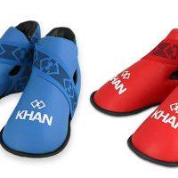 KIFGE005 Защита стопы для тхэквондо ITF Expert синяя/крсная KHAN