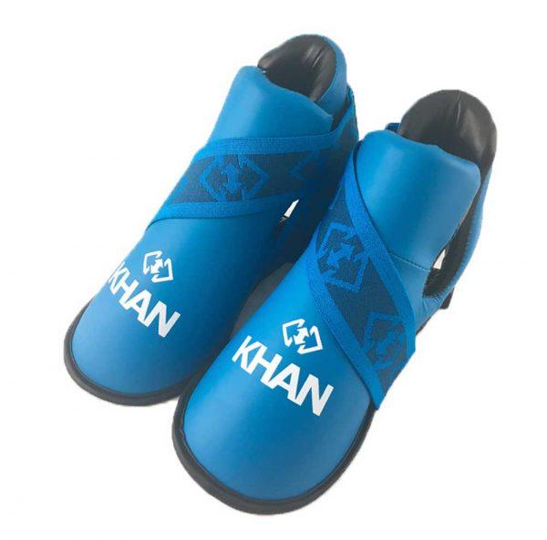 E16404-1-D Защита стопы для тхэквондо ITF NEW синяя/крсная KHAN
