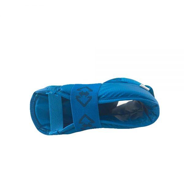 E12047-1 Защита стопы для тхэквондо ITF Kids New синяя/красная KHAN